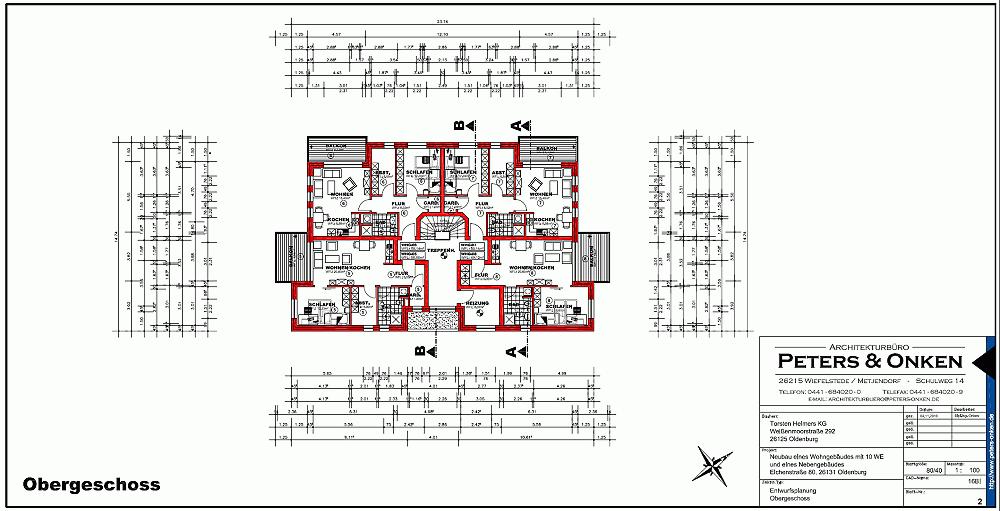 Obergeschoss Eichenstrasse 80